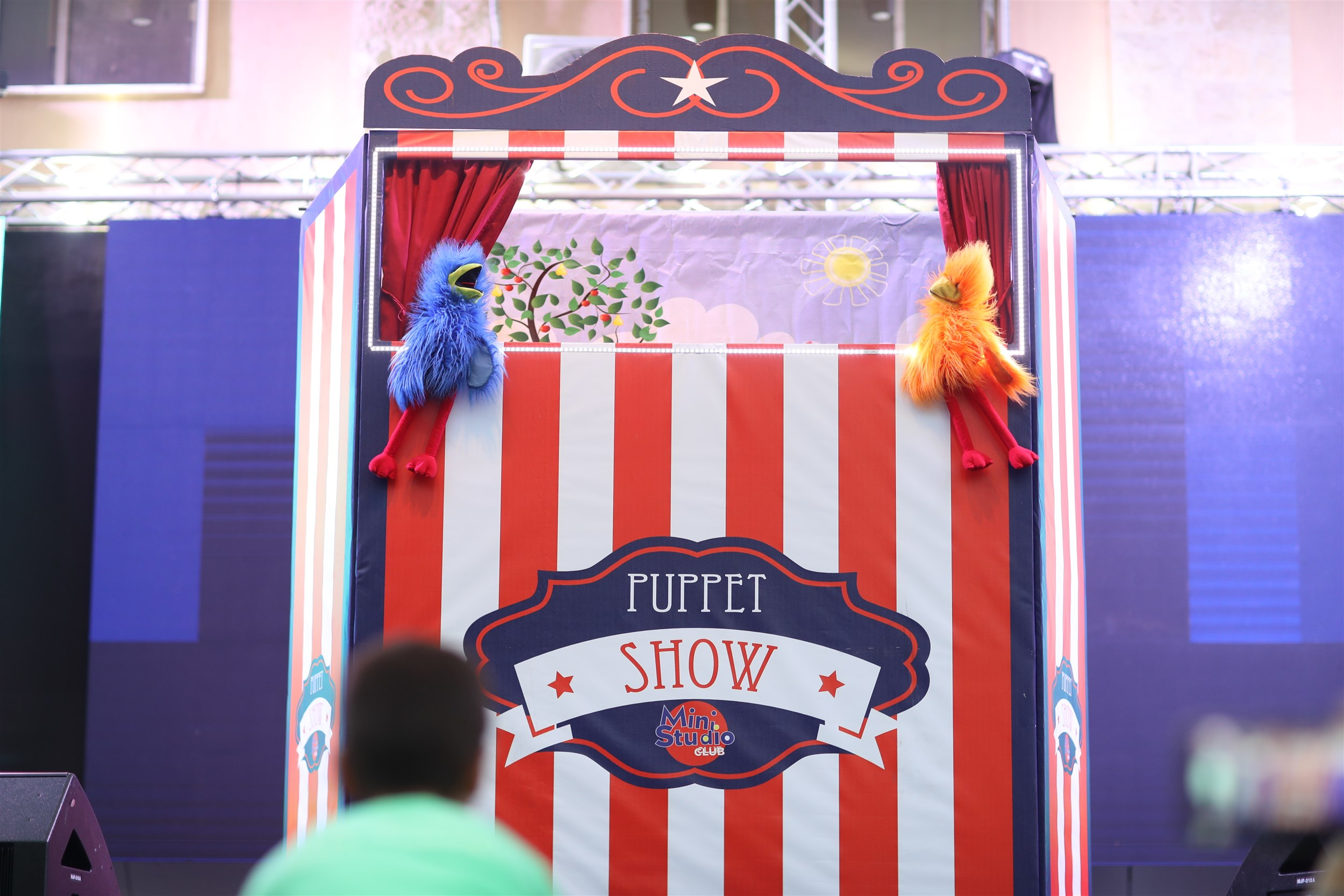 and of course everyone's favorite the puppet show