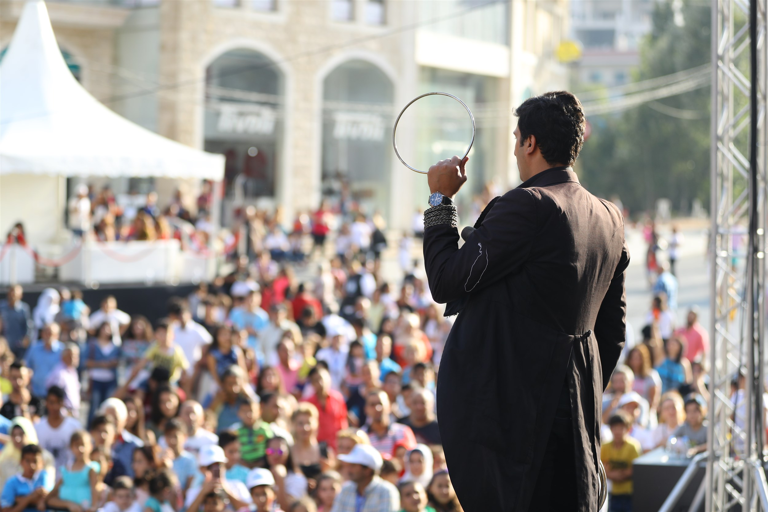 more and more magic for the crowds