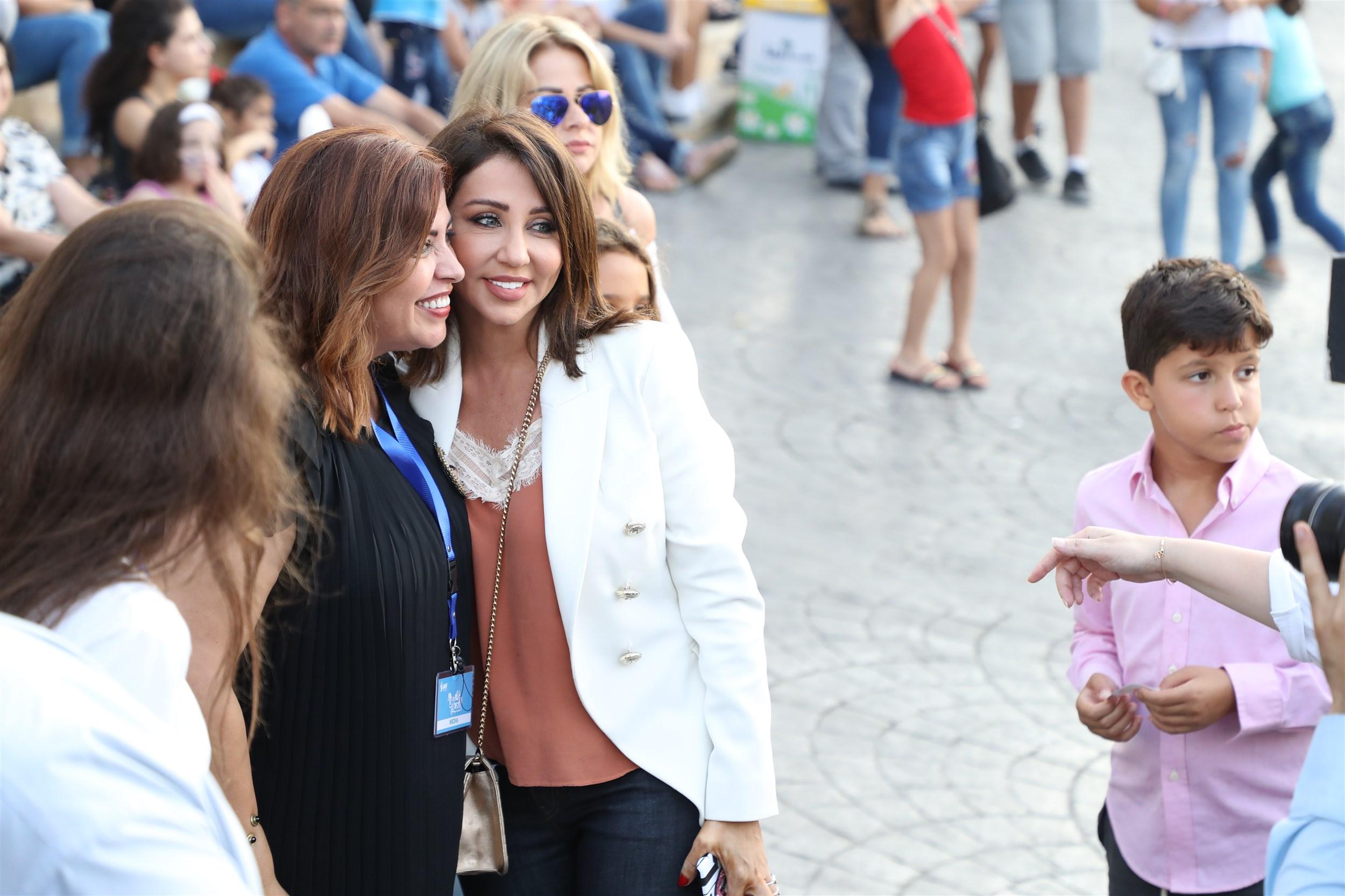 with tv star rabia zayyat