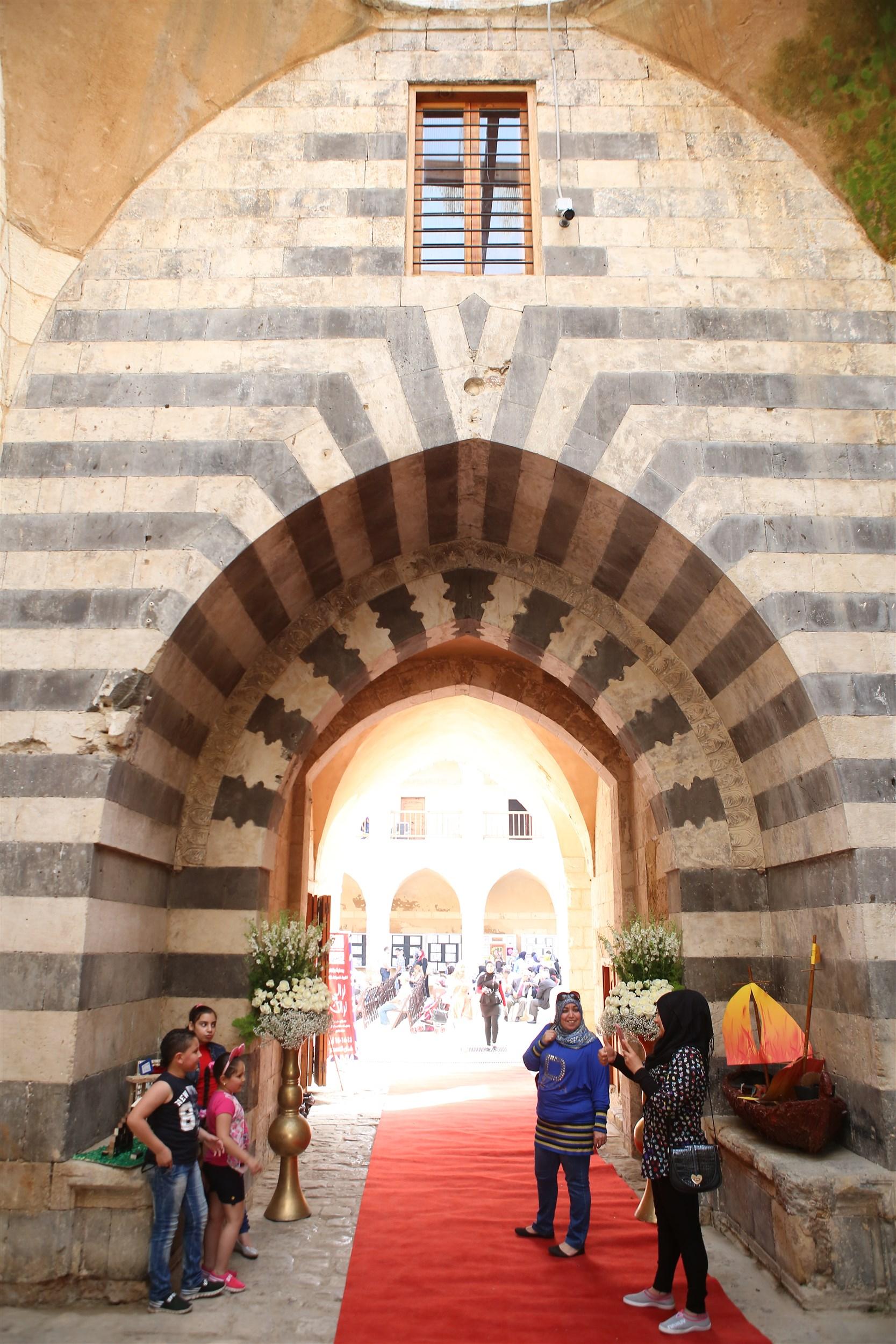 the entrance of khan al askar a true beauty of culture