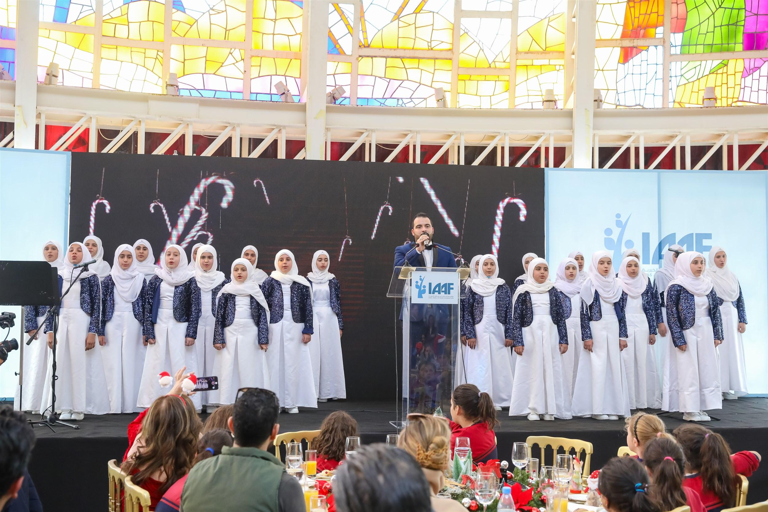 mabarat association singing christmas carols for the first time in bkerke