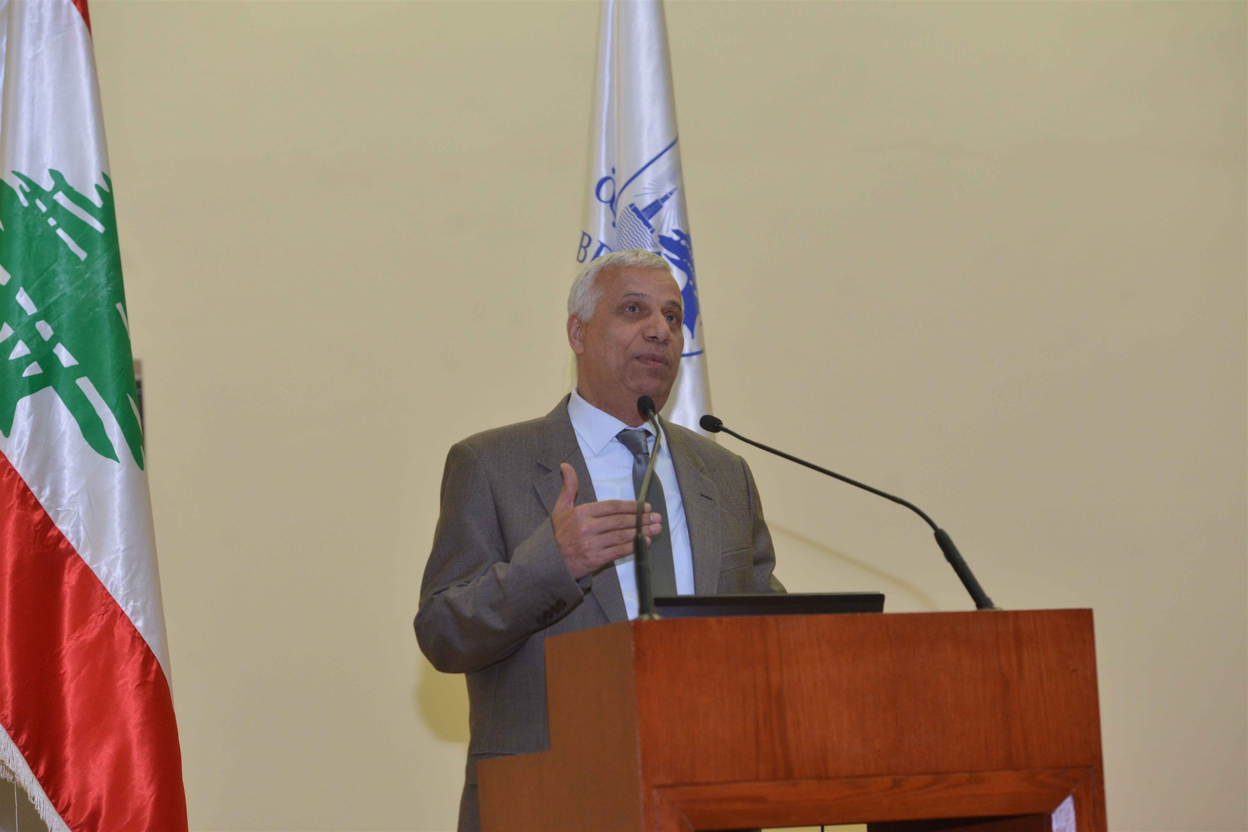 dr adel jurdi, dean of the faculty of engineering.