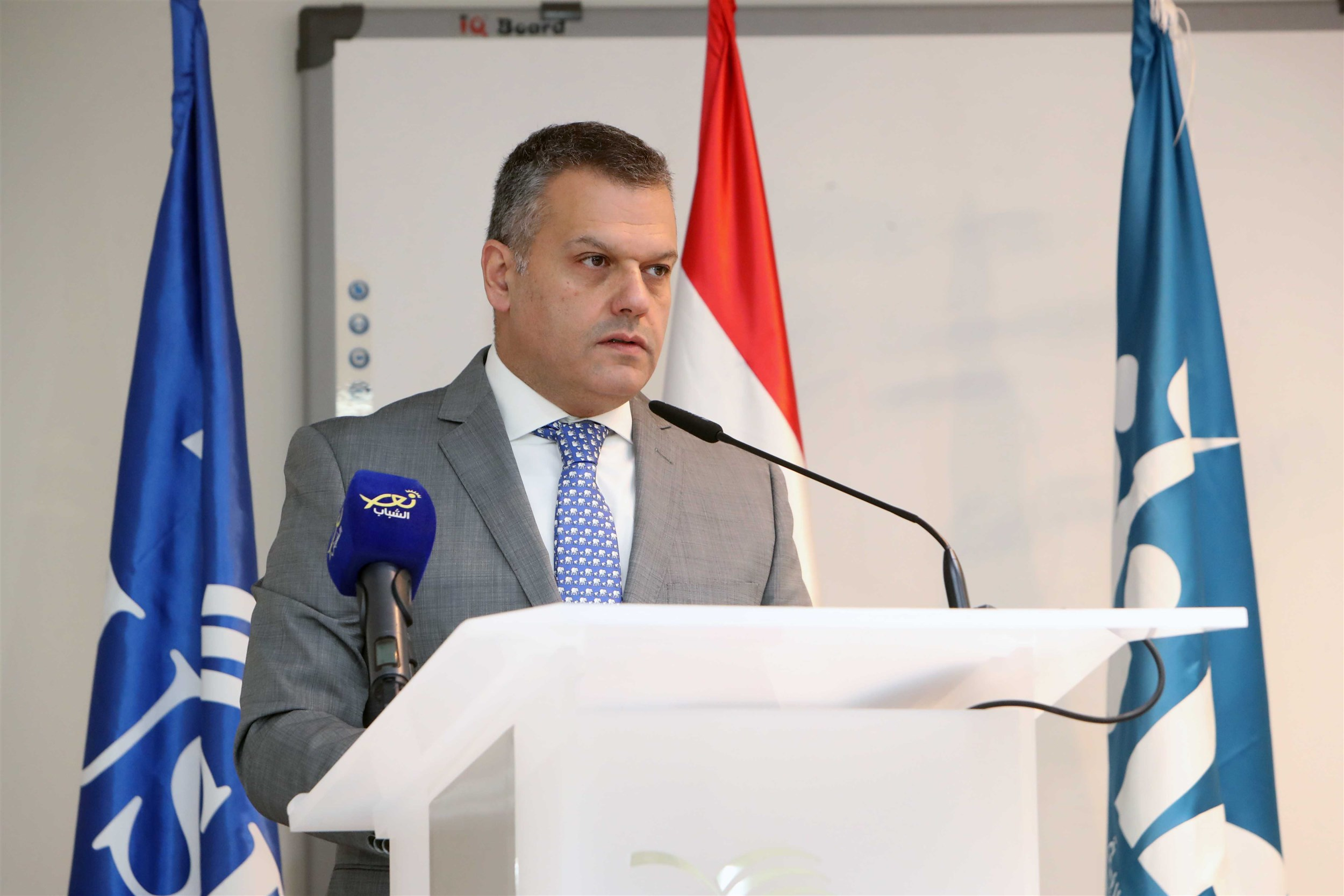 mr. elias abou fadel, the acting director of the advancement office which serves usek through its collaborations and fundraising programs from numerous donors.
