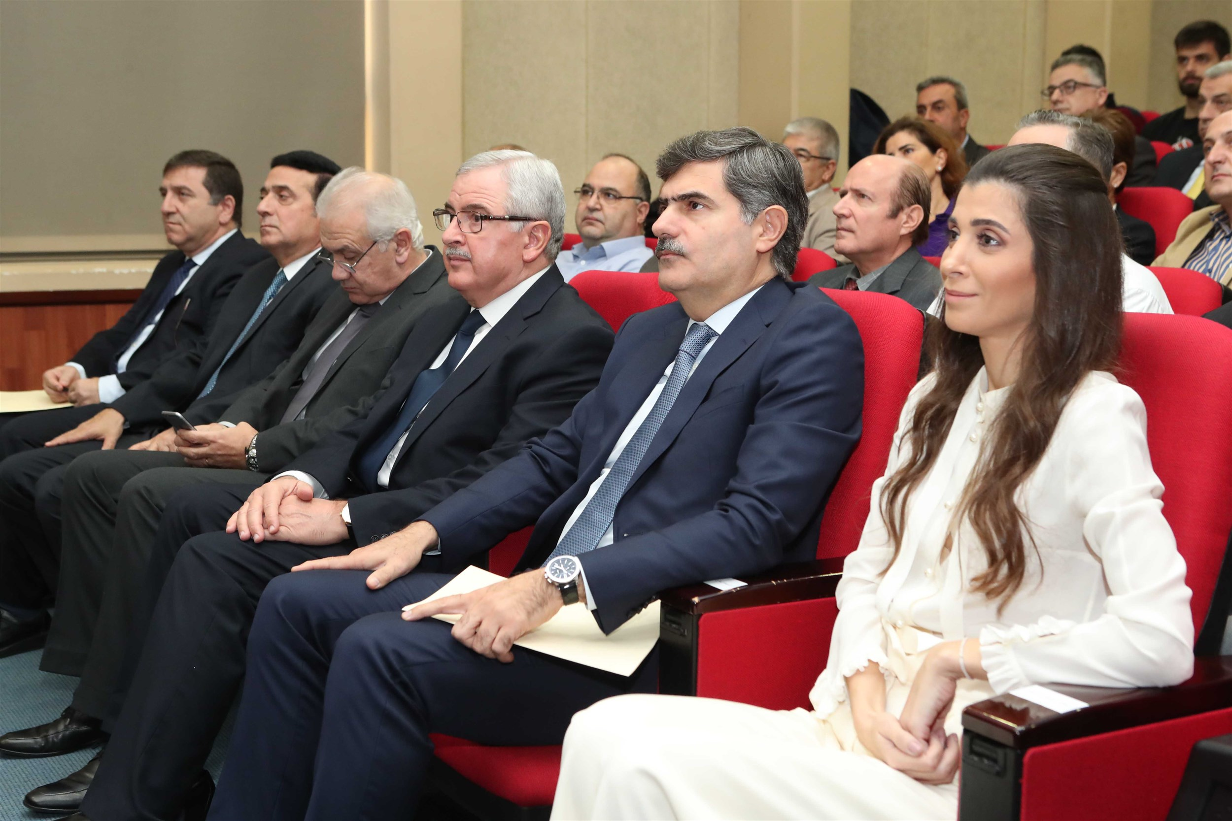 the  main  anticipated  event  that  was  attended  by  dr.  elias  warrak,  the  president  of  the university, mrs inas al jarmakani, member of parliament dr. fadi karam and minister of state for women affairs mr. jean oghasapian.