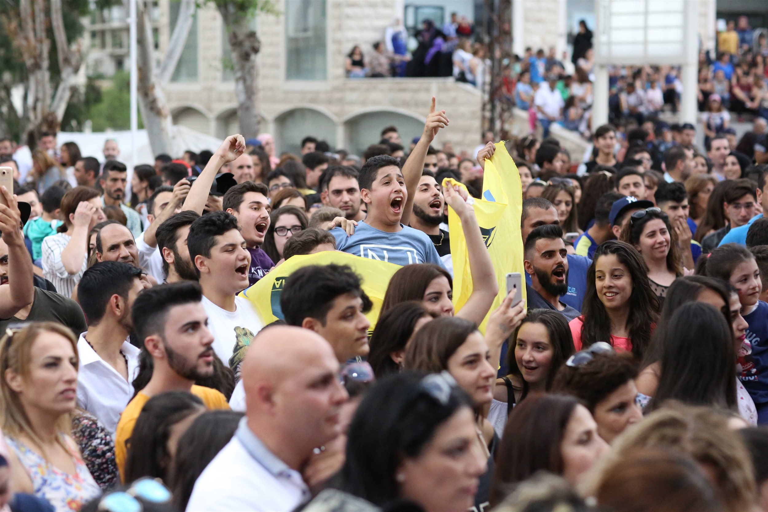 more than 14,000 people attended the annual sandouk el dounia festival in celebration of eid al fitr.